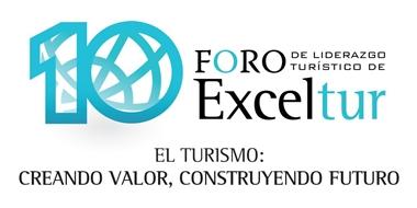 Logo 10 Foro Exceltur entrada home web